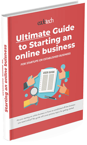 ultimate guide to starting an online business