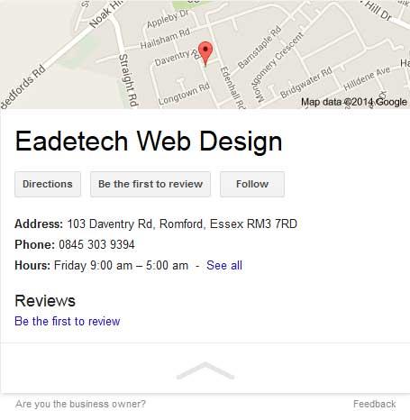 local google search view