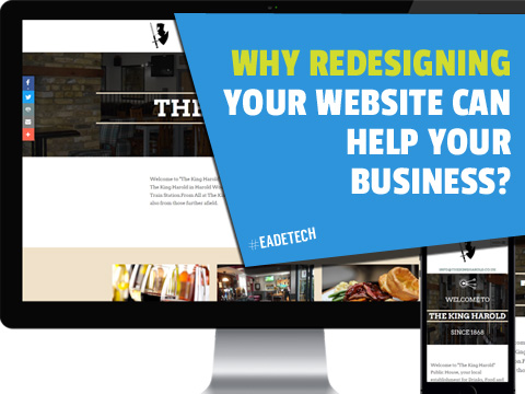 Why redesign of your website can Improve online business