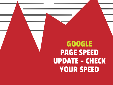 Google Speed Update from Google - Test your web speed