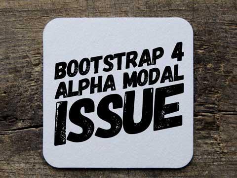 Vertically align Bootstrap Alpha Modal
