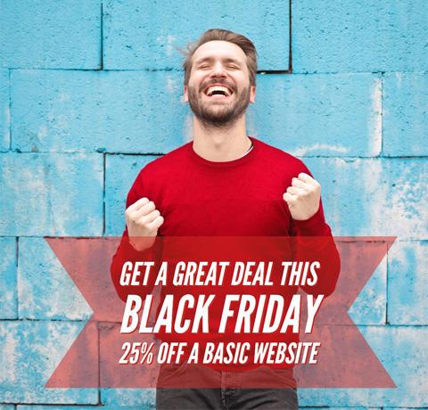 Black Friday 2019 Website Deal (25% off)